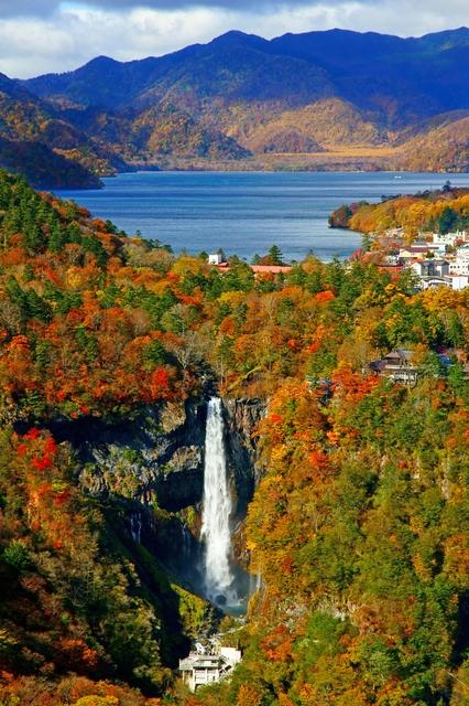 Dramatische Road Trips: Kegon Wasserfall