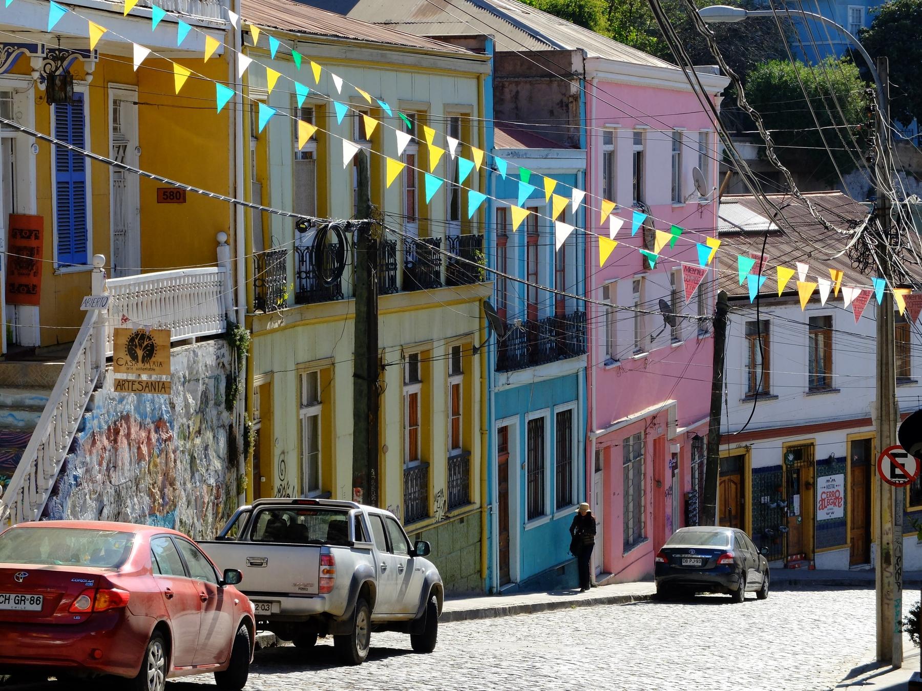 Куда поехать в Чили: город Вальпараисо