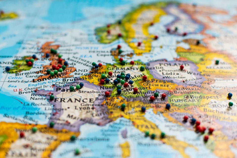 Χάρτης για ταξίδια στην Ευρώπη χωρίς άγχος.