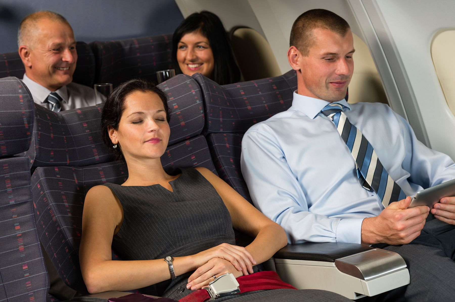 Business class flights are a luxury travel option