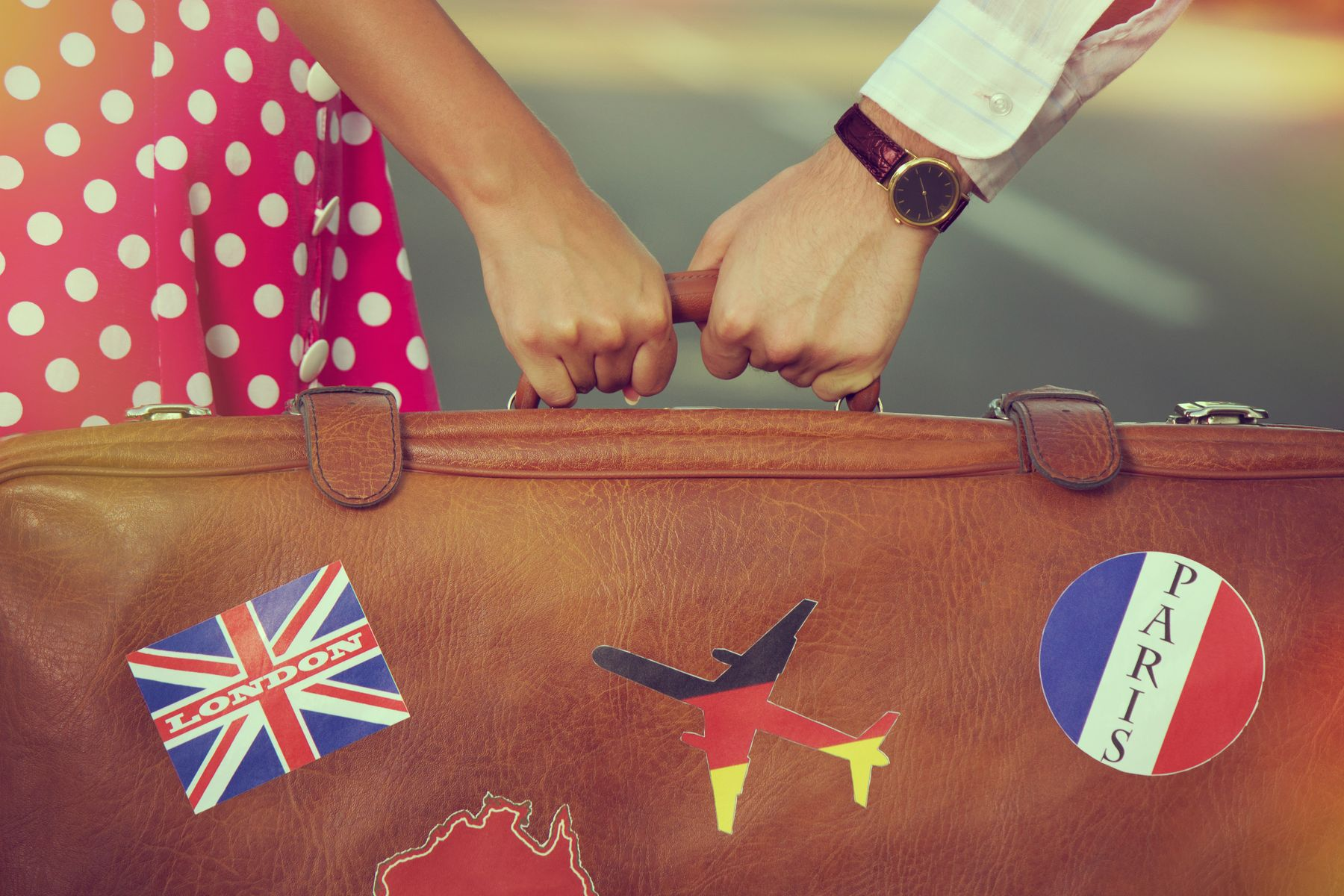 With the new Ryanair hand luggage rules, pooling your luggage with a partner or friend is a smart idea