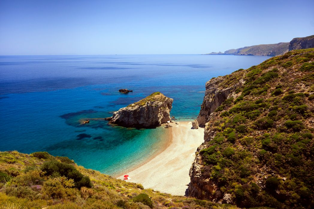 Kaladi Beach, Kythira - best things to do in Greek islands