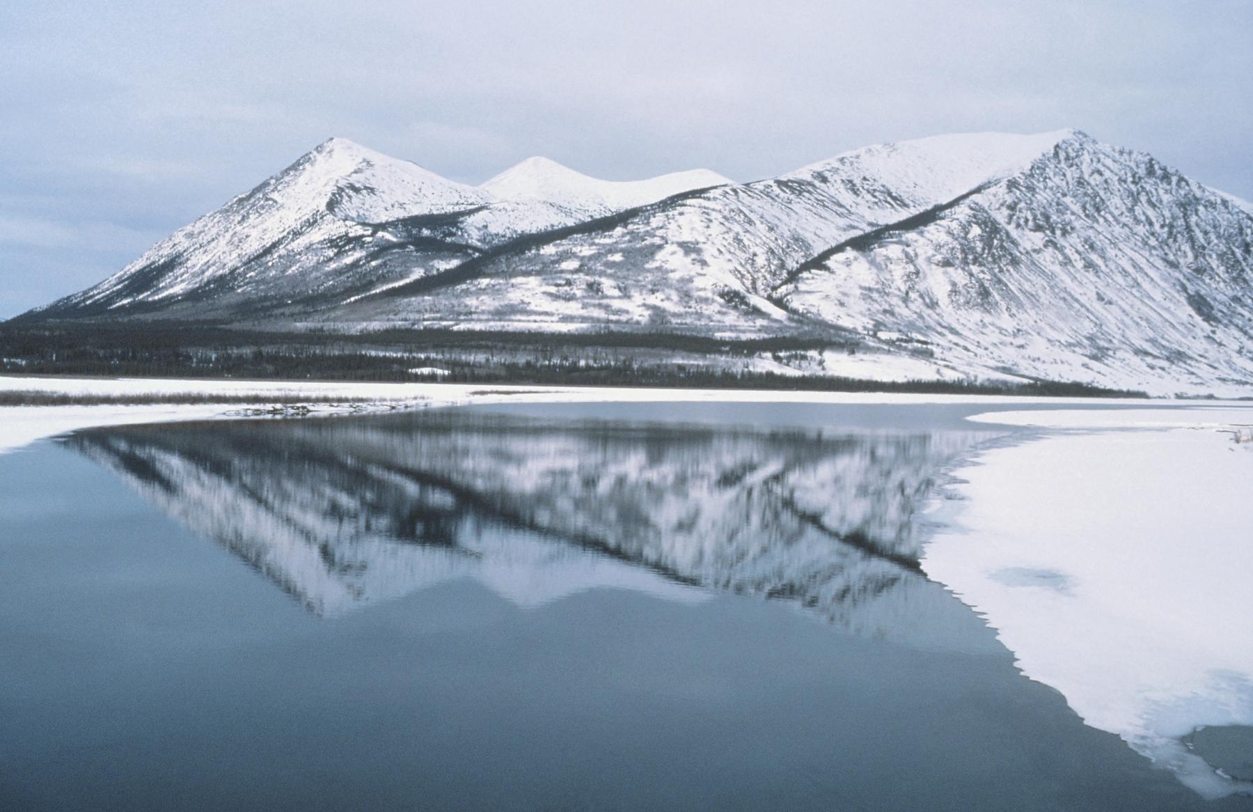 glaciers in Yukon