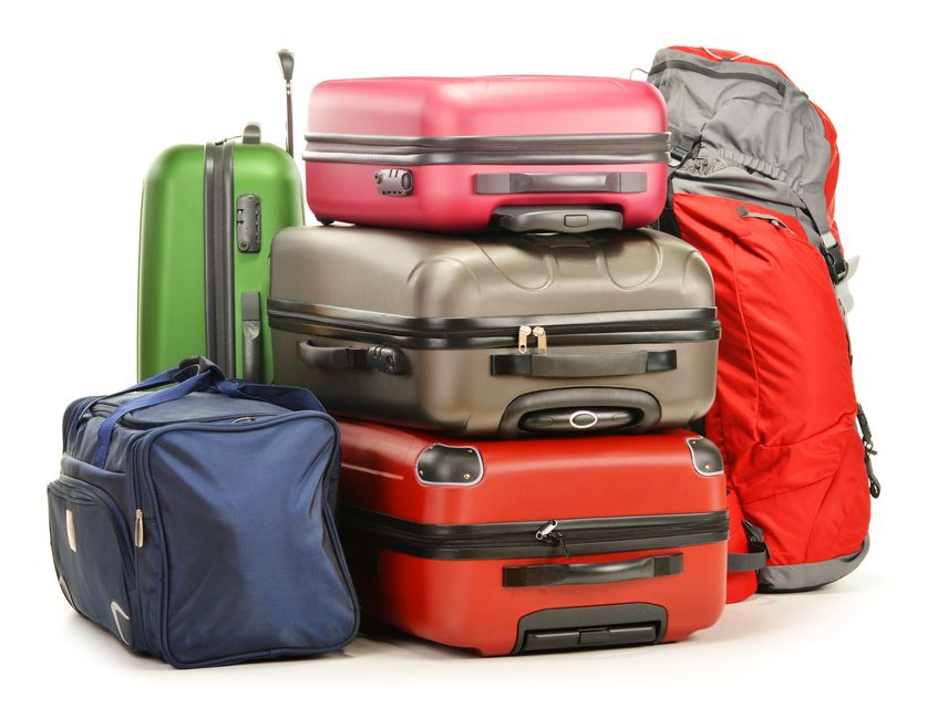 Stacked luggage - proven ways to turn your flight into a nightmare