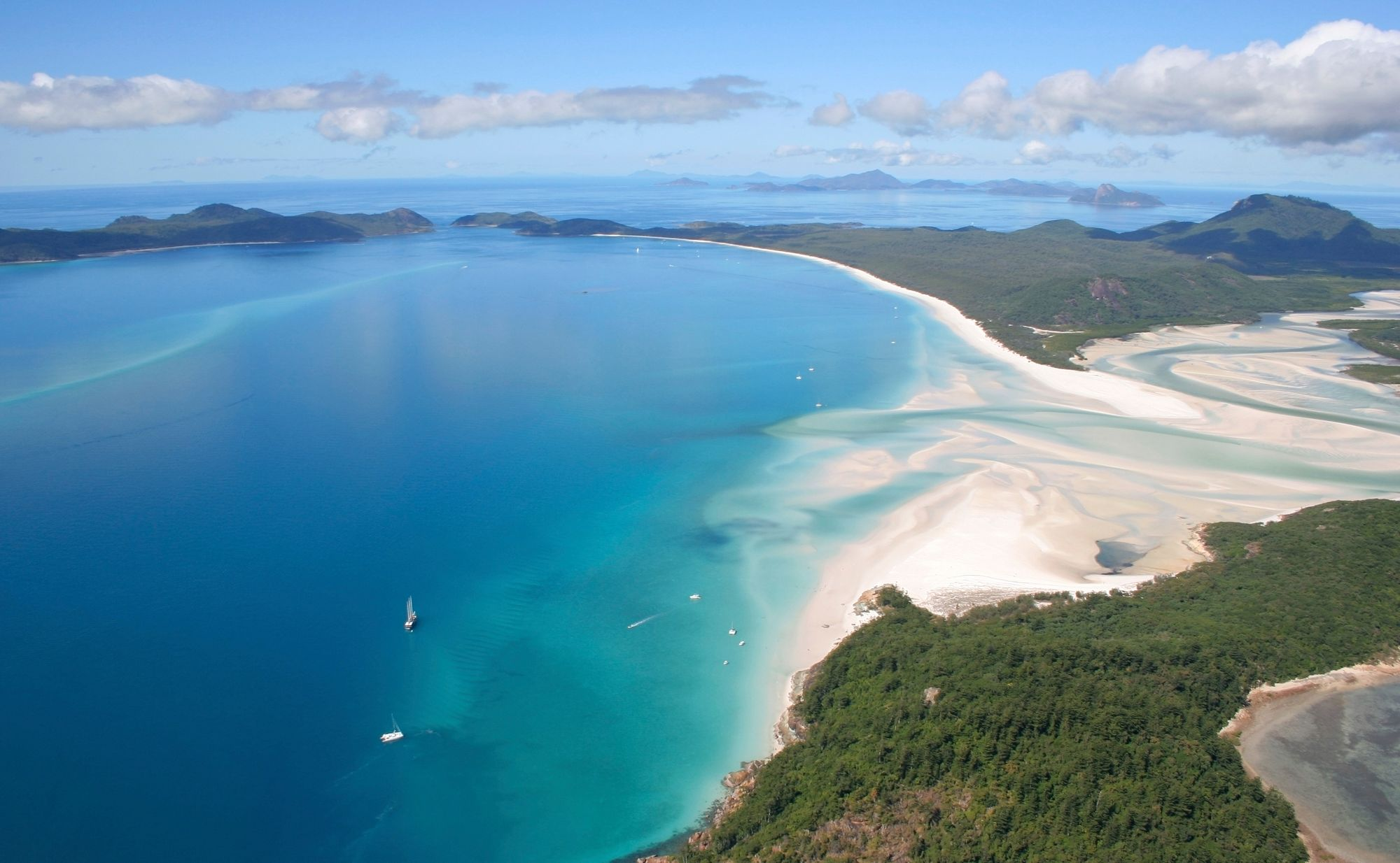 The best beaches in the world - Whitsunday Islands, Australia