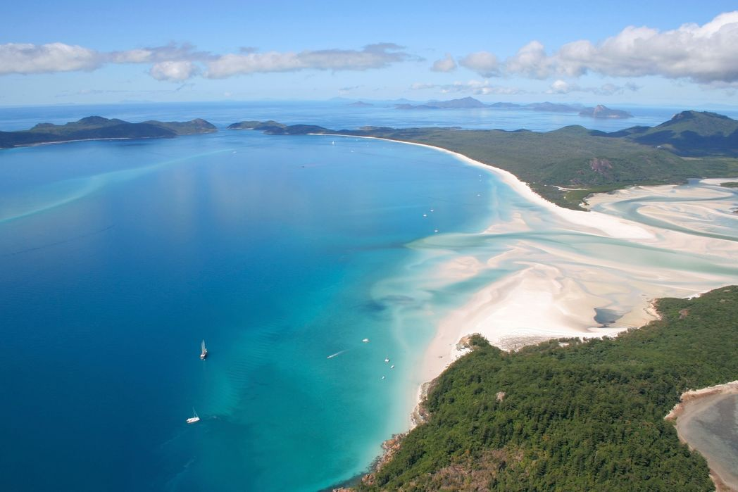 12 of the most beautiful beaches in the world - Whitsunday Islands, Australia