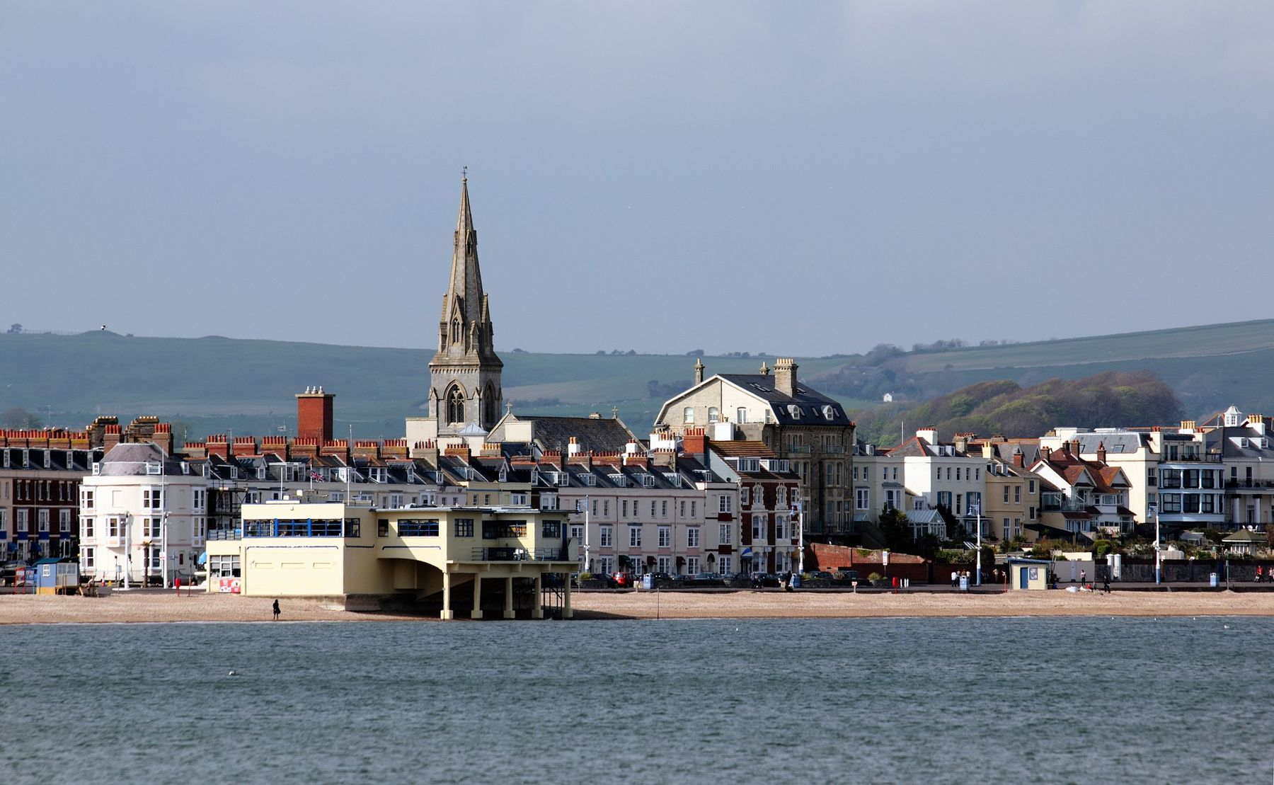 Moonfleet Manor, the best beach hotel for families, is on the outskirts of Weymouth