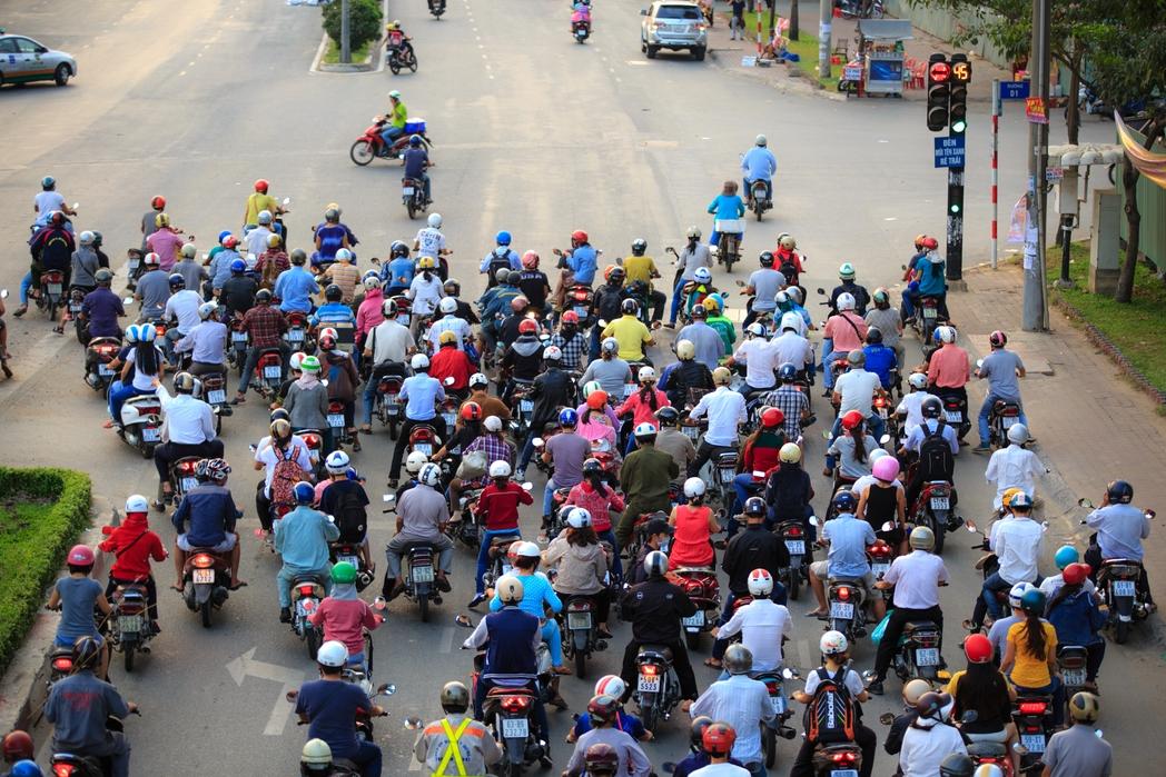 Μηχανάκια στο Bιετνάμ