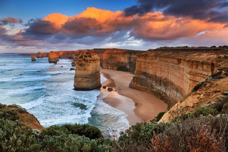 Οι Βράχοι των 12 Αποστόλων στον Great Ocean Road στην Αυστραλία