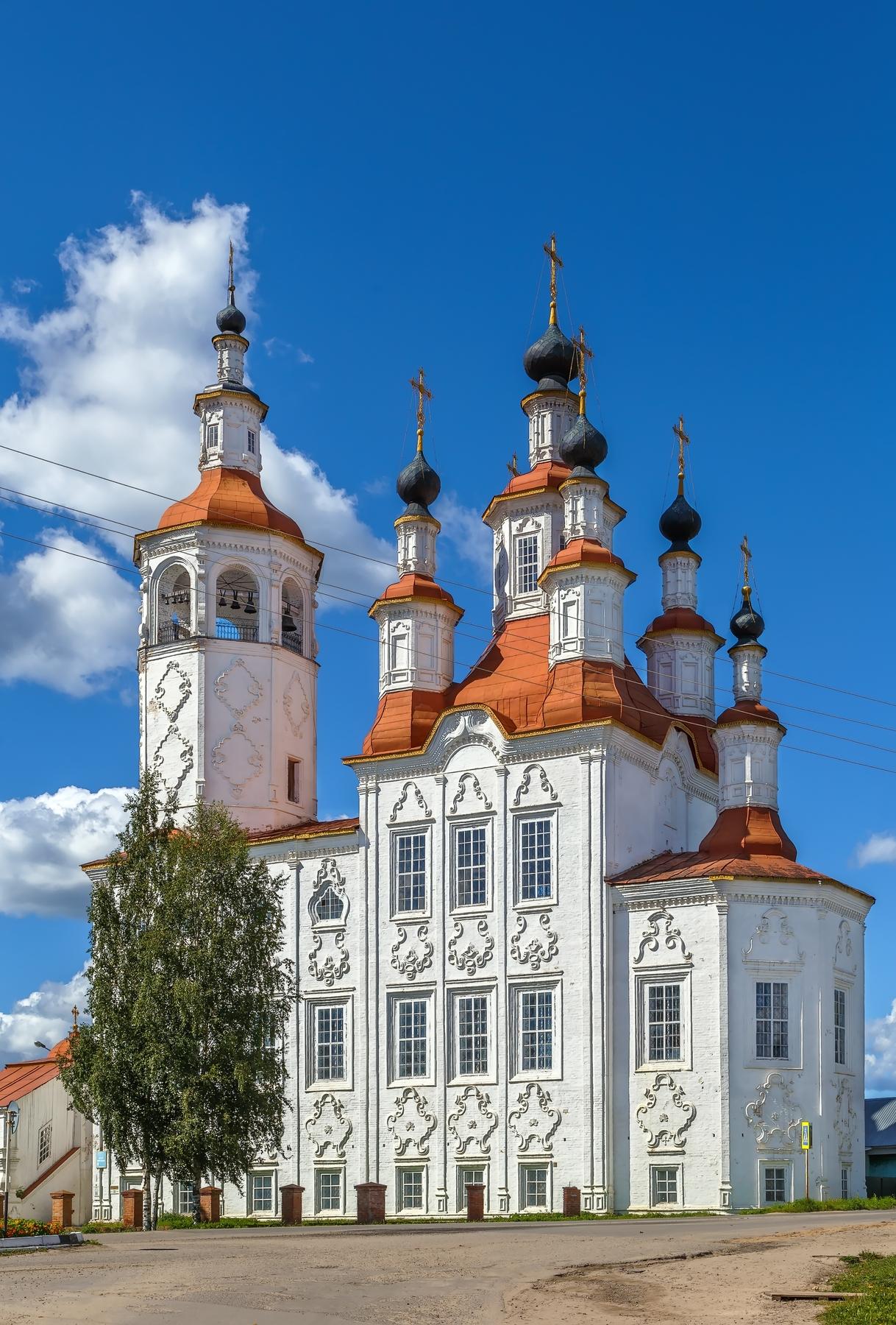 Старинные городки России, куда стоит съездить: Тотьма
