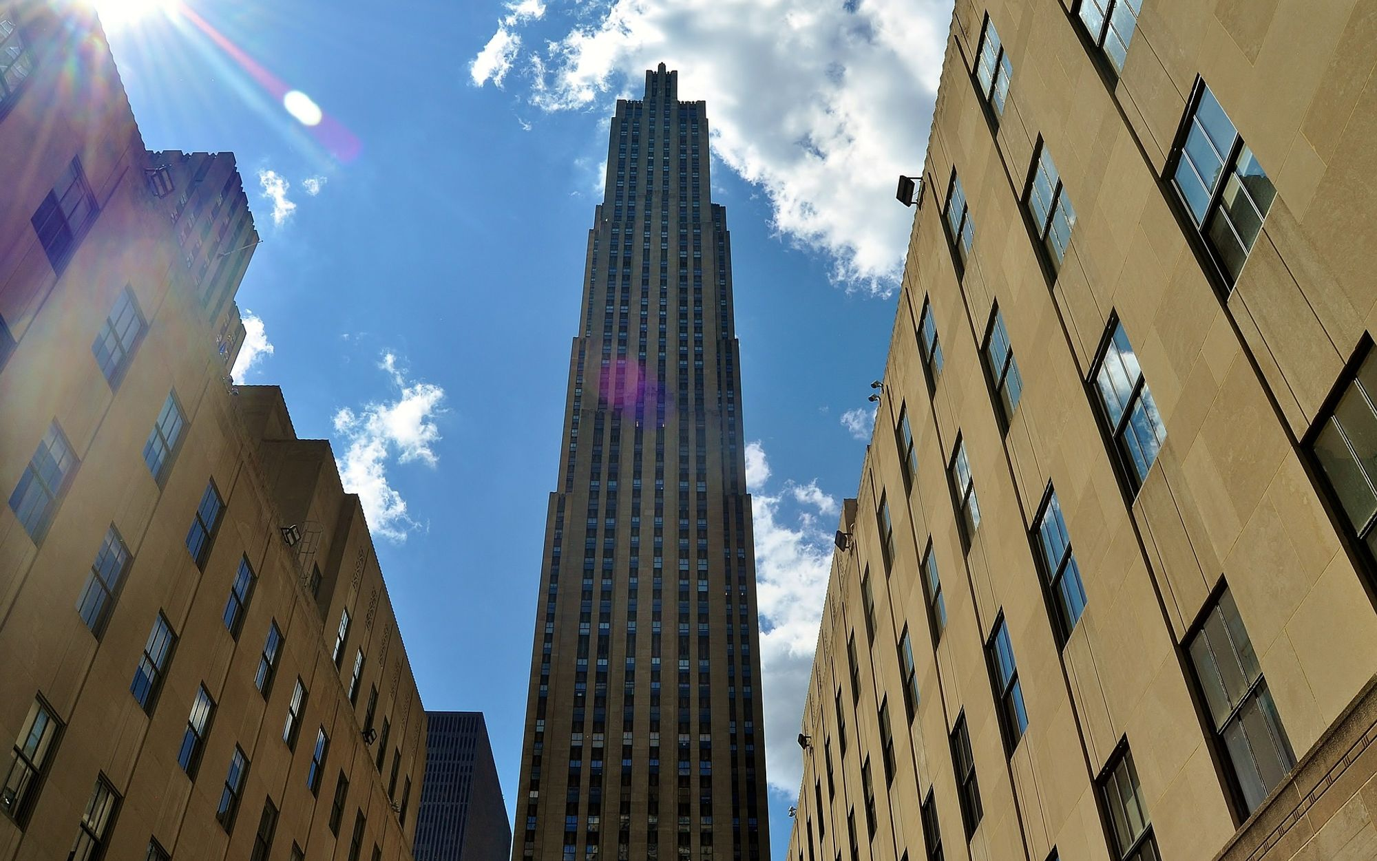 Rockefeller Center in New York - ניו יורק