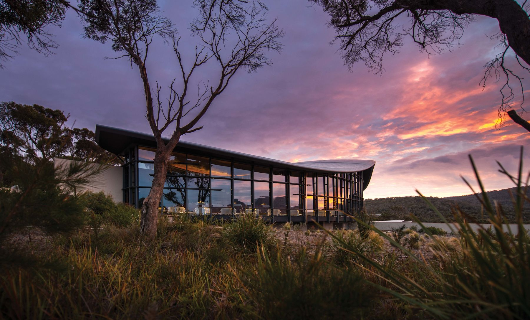 Saffire Freycinet boutique hotel makes it a great stay on a romantic road trip