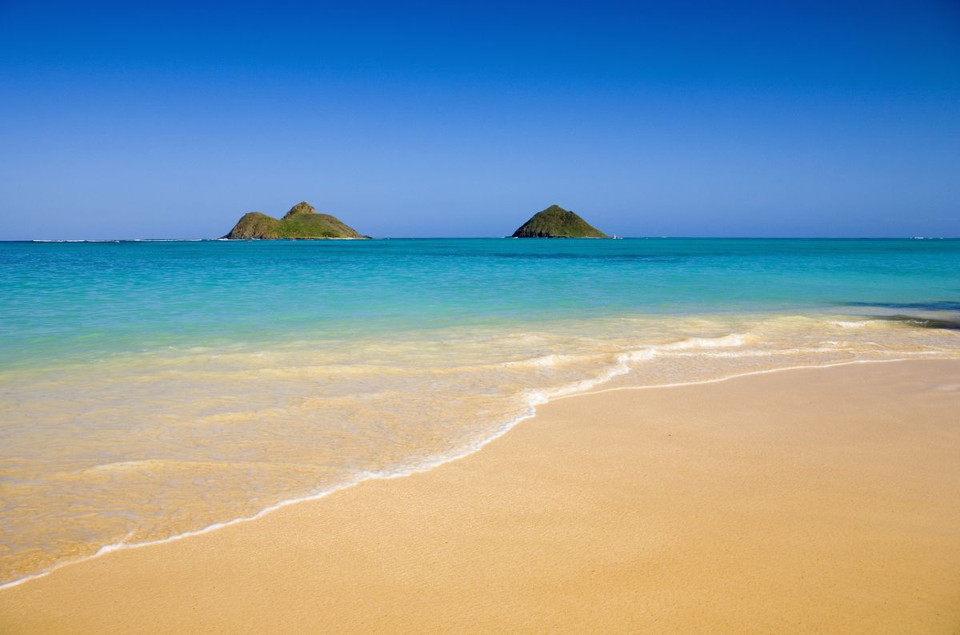 Lanikai Beach in Hawaii is a tropical paradise
