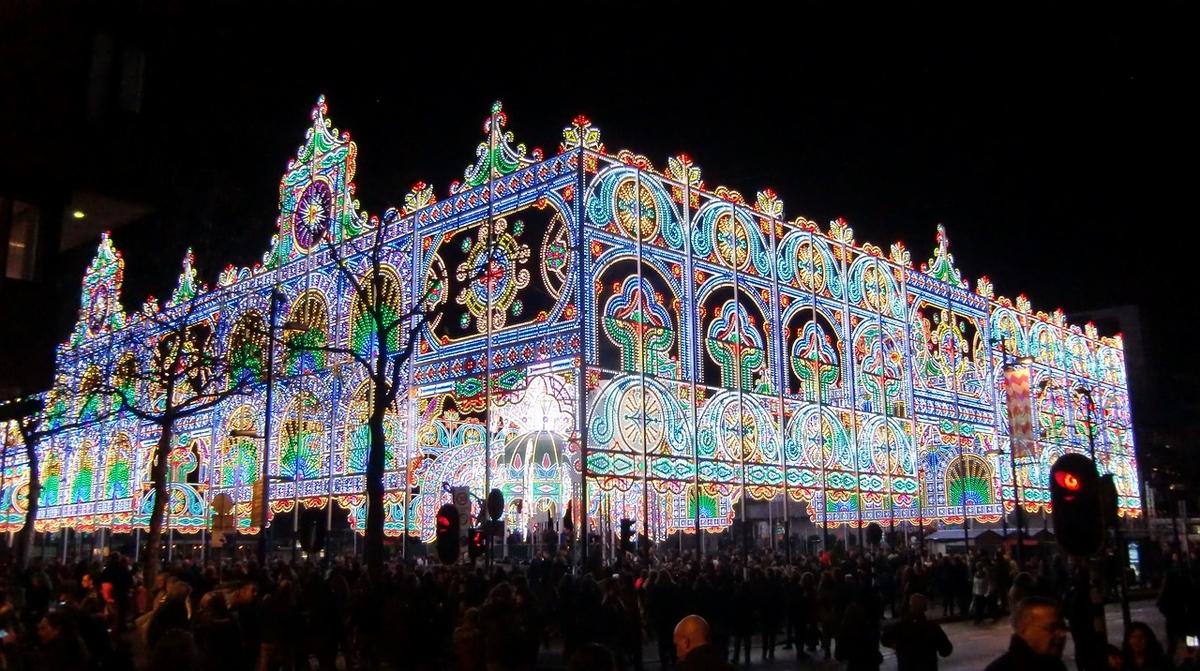 glow fest eindhoven ciudad de holanda