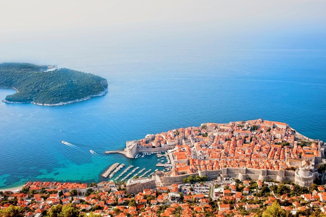Hurmaava Dubrovnik Kroatiassa