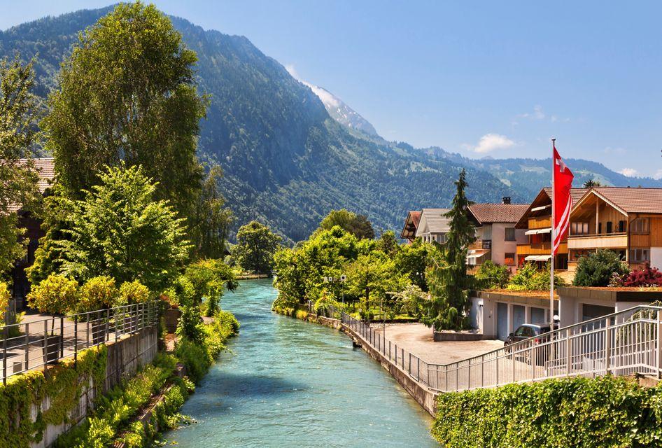 Die schönsten Orte in den Schweizer Alpen: Interlaken, Bern