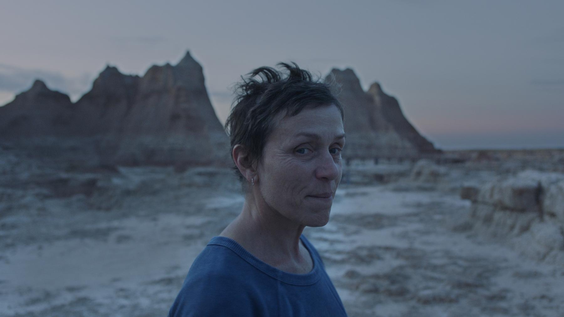 2021 docu-fiction film Nomadland was partly filmed in the Badlands National Park, South Dakota