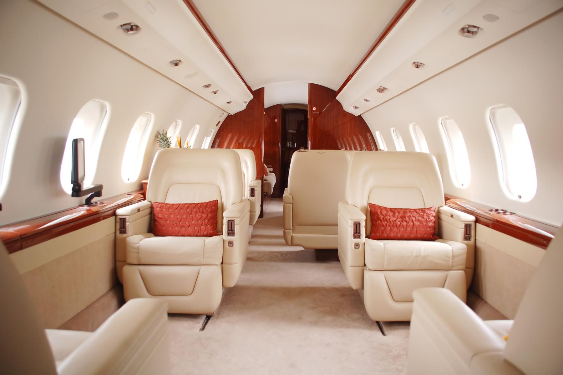 Voyager en jet privé : priviligier le confort