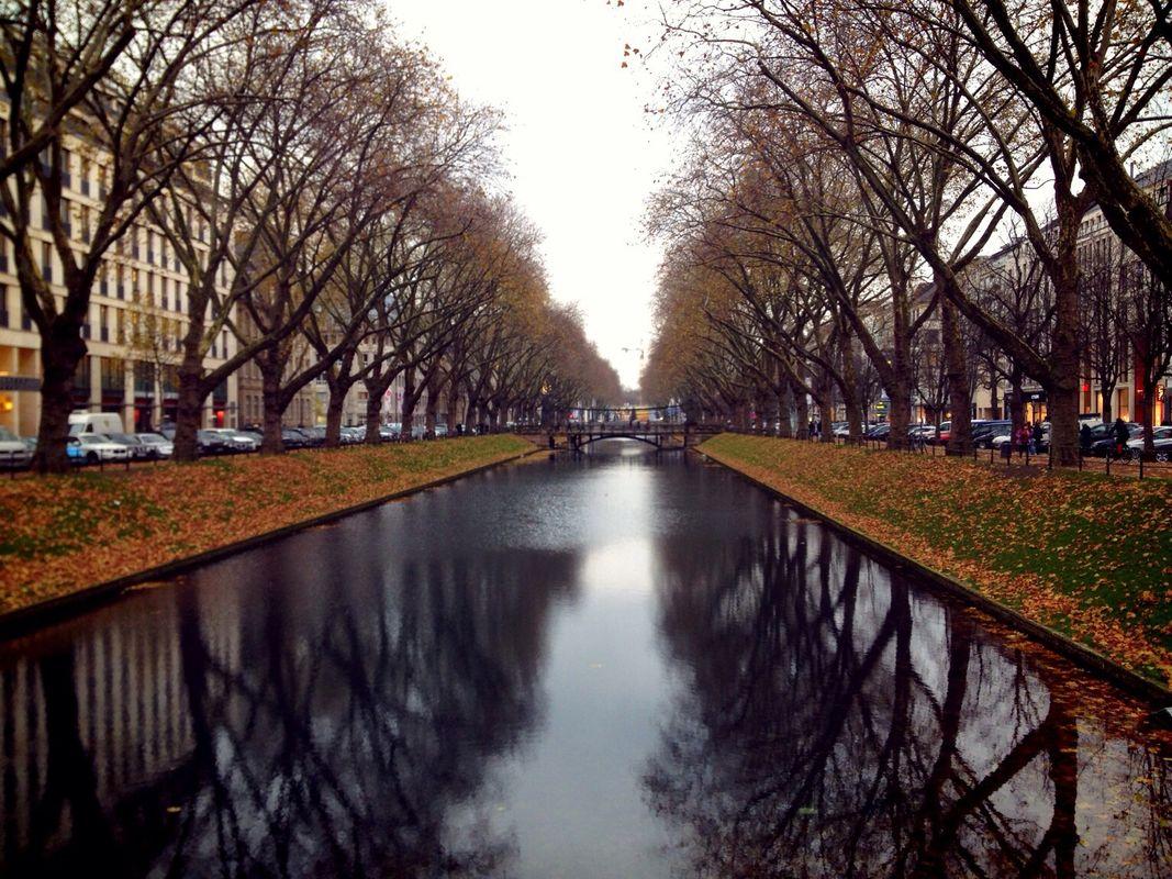 Königsallee, best things to do in Dusseldorf, Germany