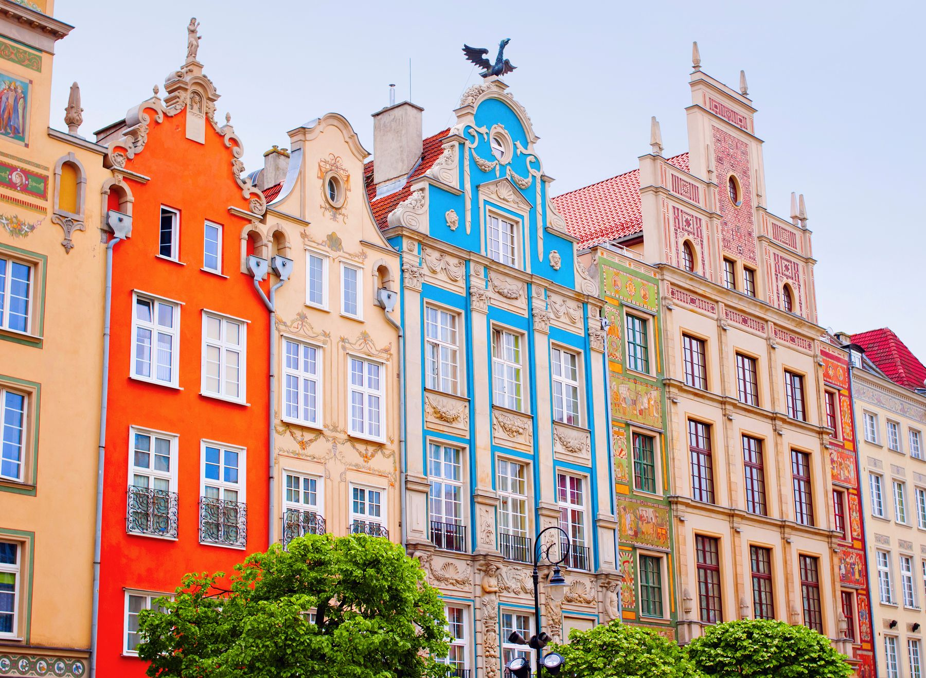 Charming Baroque houses make Gdańsk, Poland one of the 10 best cities to visit in Central Europe.