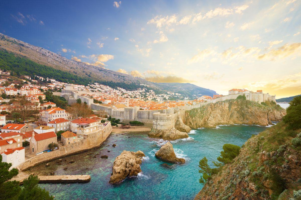 Kolacja z widokiem na Adriatyk
