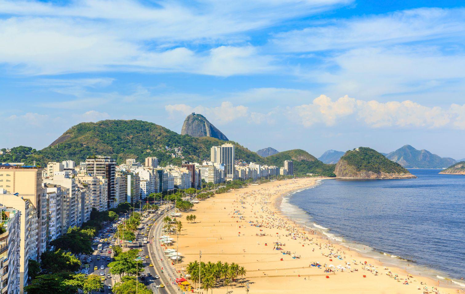 Die schönsten Reiseziele Brasiliens: Strand von Ipanema & Copacabana, Rio de Janeiro