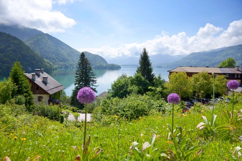 Альпийские пейзажи Австрии