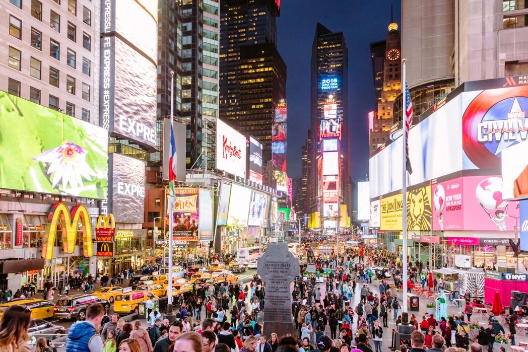 New York, quartiere di Manhattan: Times Square