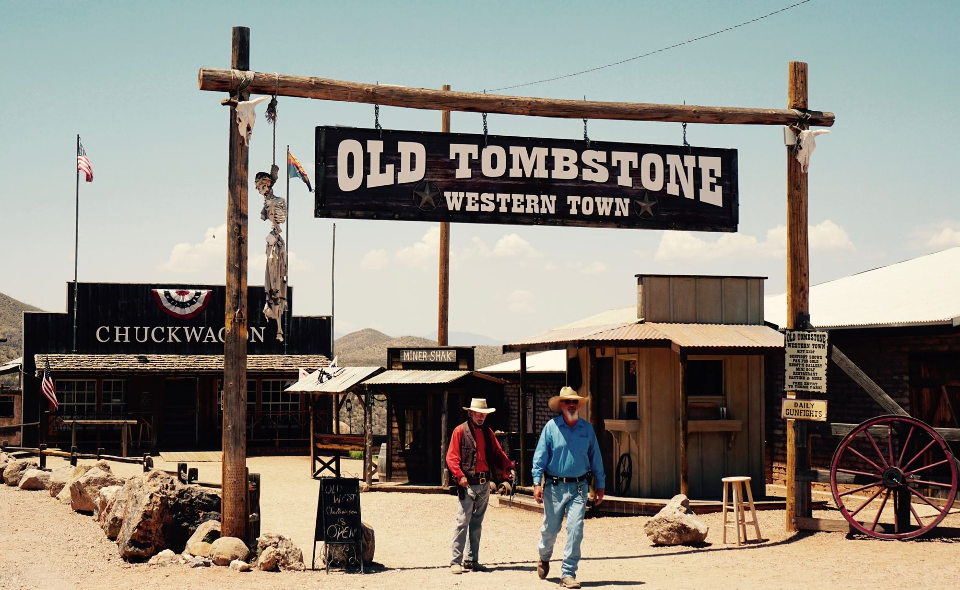 Тумстоун в Аризоне – город, похожий на декорации для вестерна