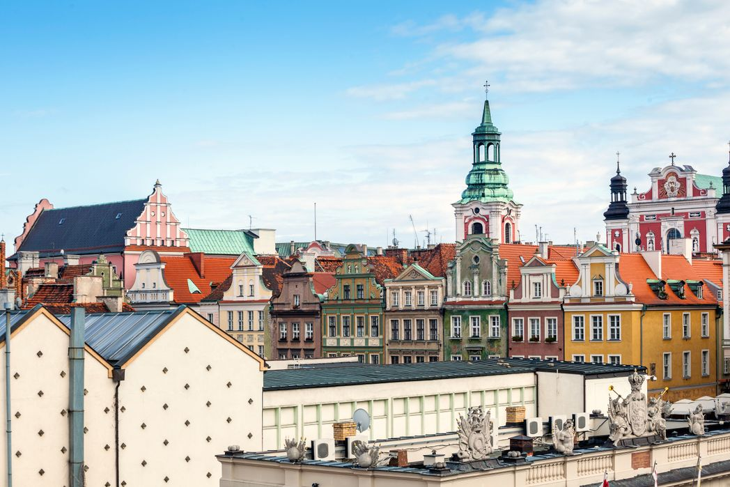 Myślisz Poznań atrakcje. Mówisz koziołki.