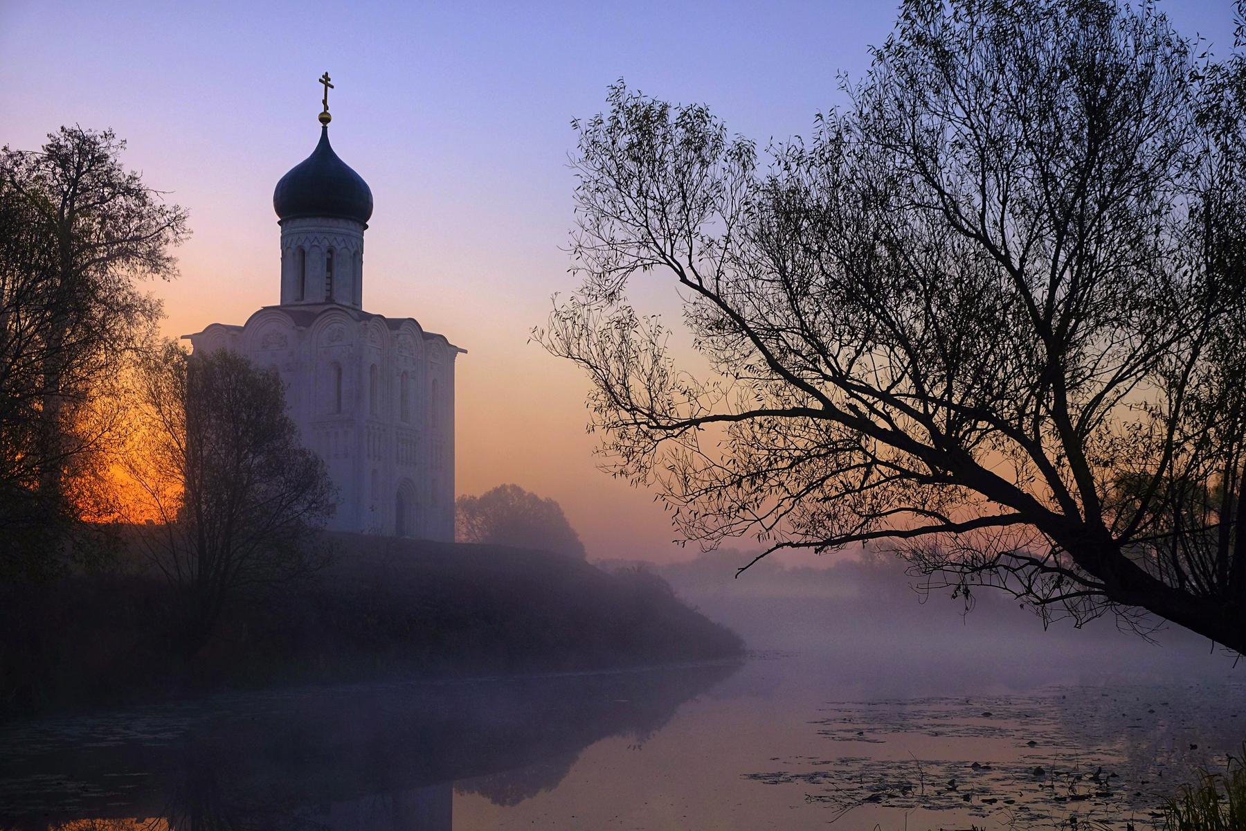 Очаровательные деревушки России —Боголюбово под Владимиром