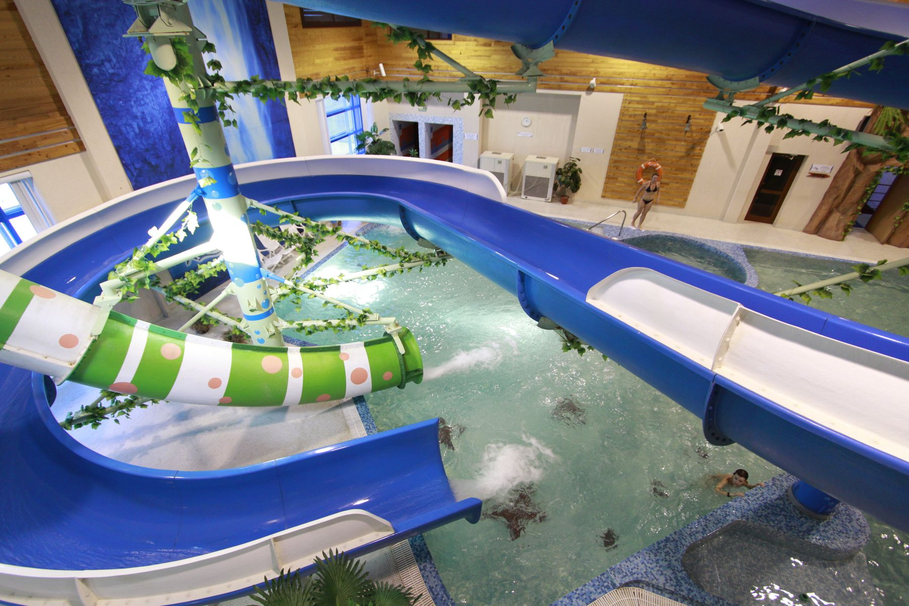 Аквапарк в отеле «Беловодье», Белокуриха