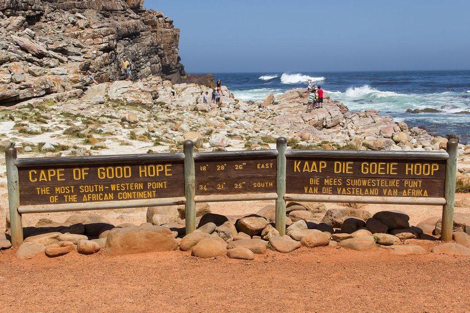 Kap der guten Hoffnung in Kapstadt