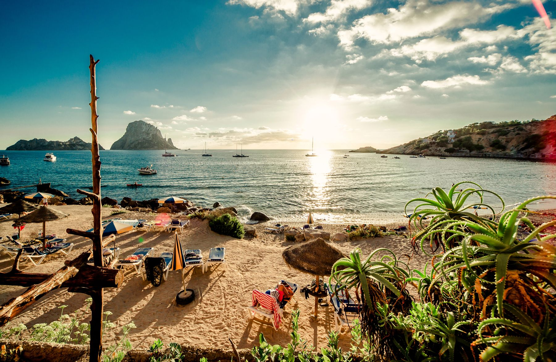 Despite its reputation, it's possible to have a cheap beach holiday in Ibiza