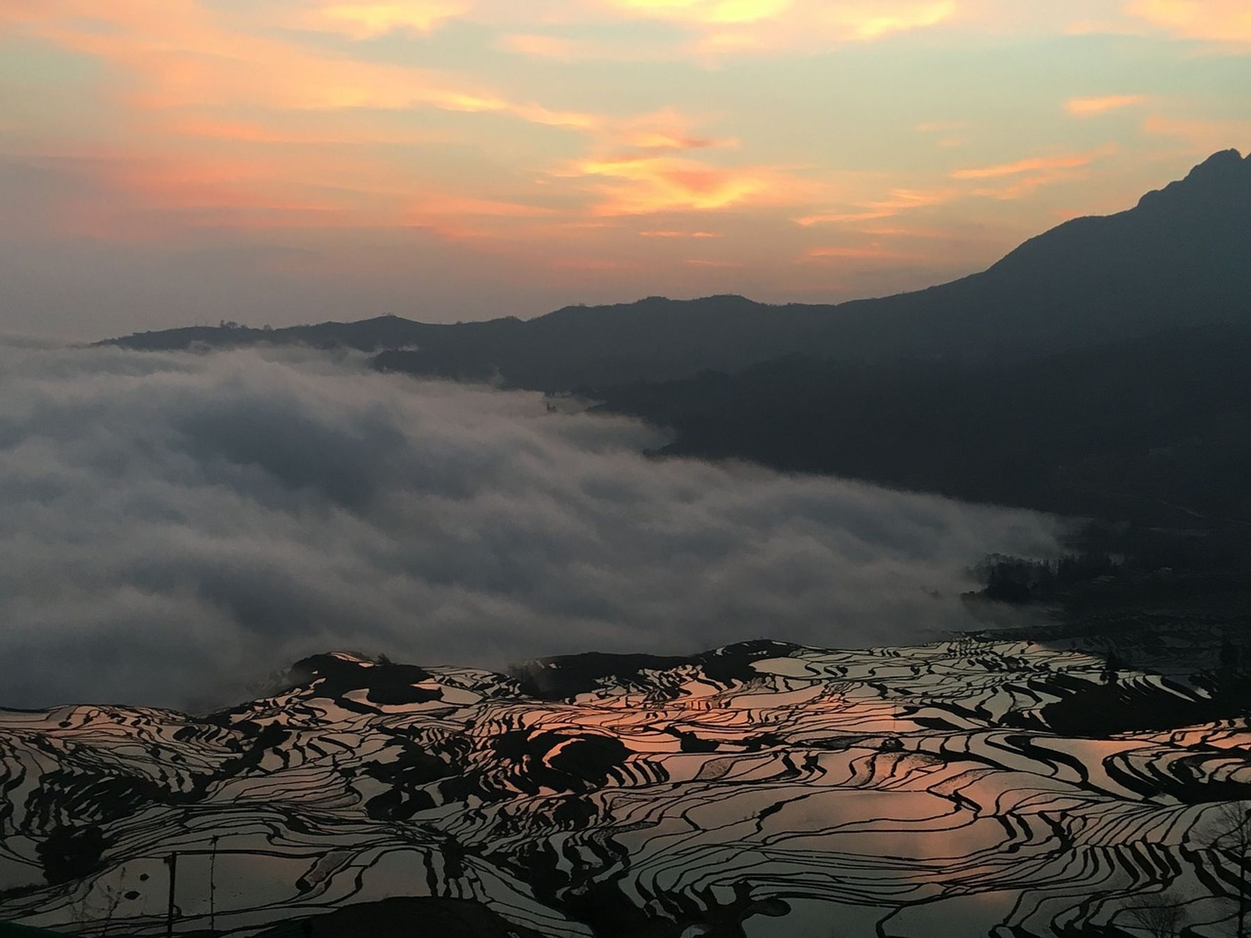 Terrazas de arroz de Yuanyang China lugares más originales a los que viajar