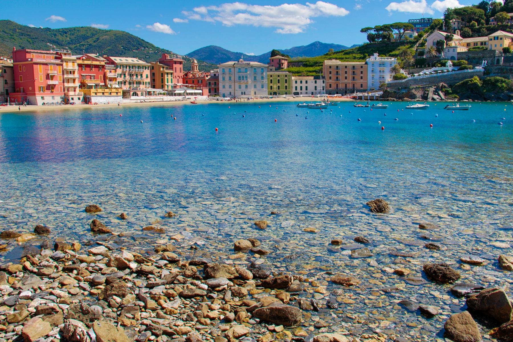 Spiagge più belle della Liguria- Baia del Silenzio (Sestri Levante)