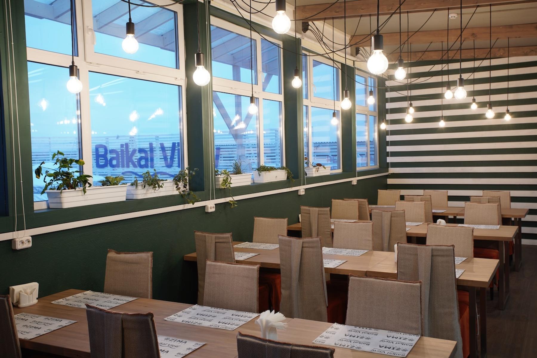 Столовая гостиницы Baikal View на Байкале
