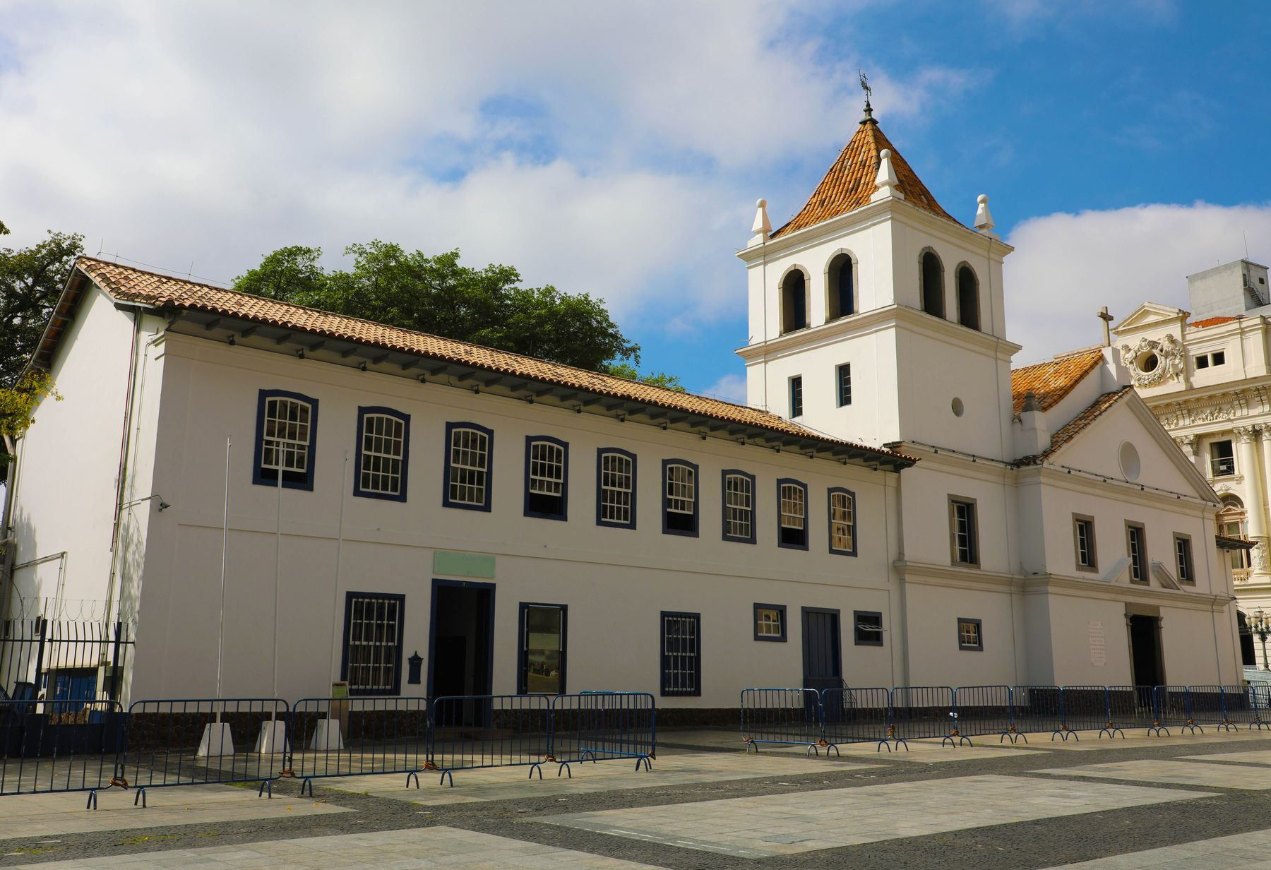 Pátio do Colégio, em São Paulo.