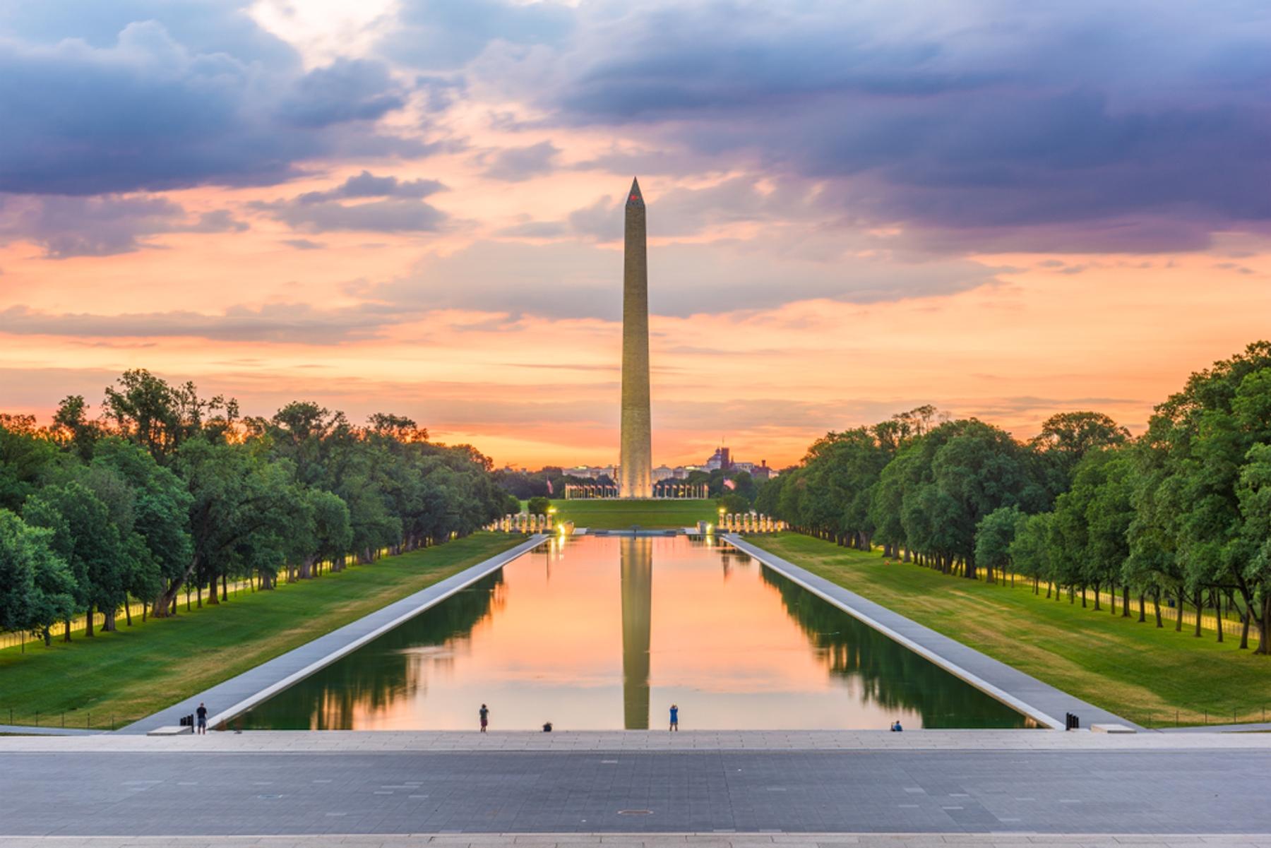 アメリカ・ワシントンD.C.ワシントン記念塔