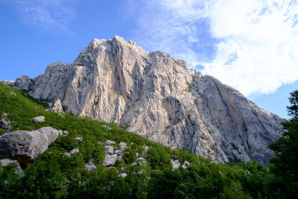Croazia in camper Monte Učka