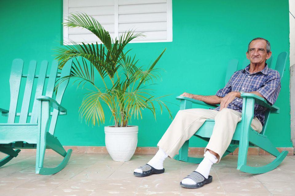 rockingchair cubain