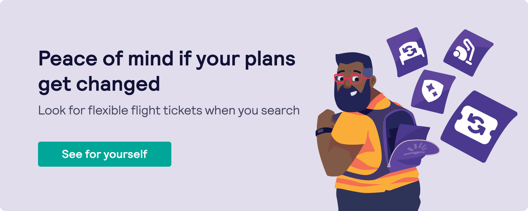 Skyscanner search for flexible tickets